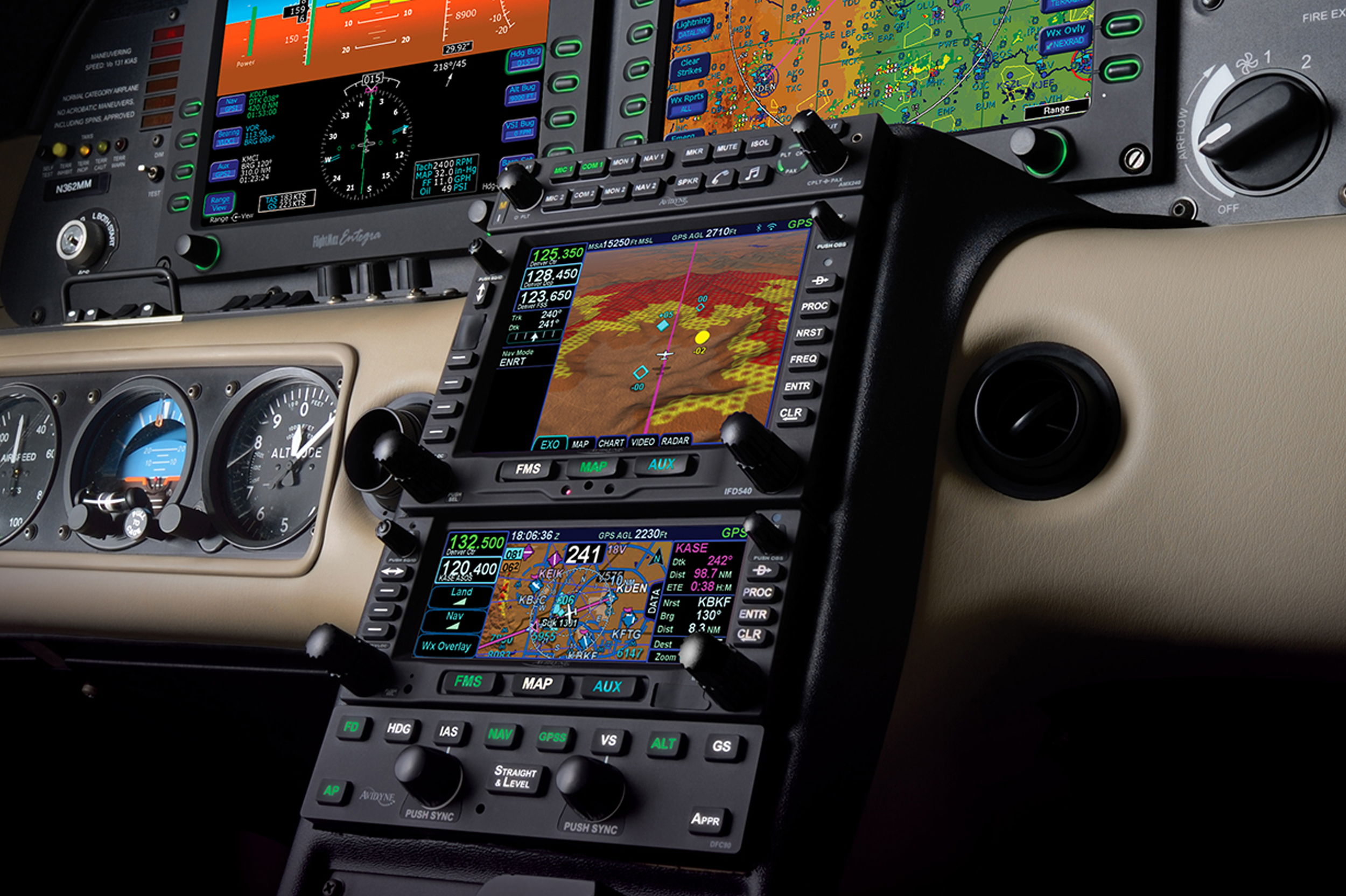 NexAir Smart Panel Upgrades: Cirrus SR20