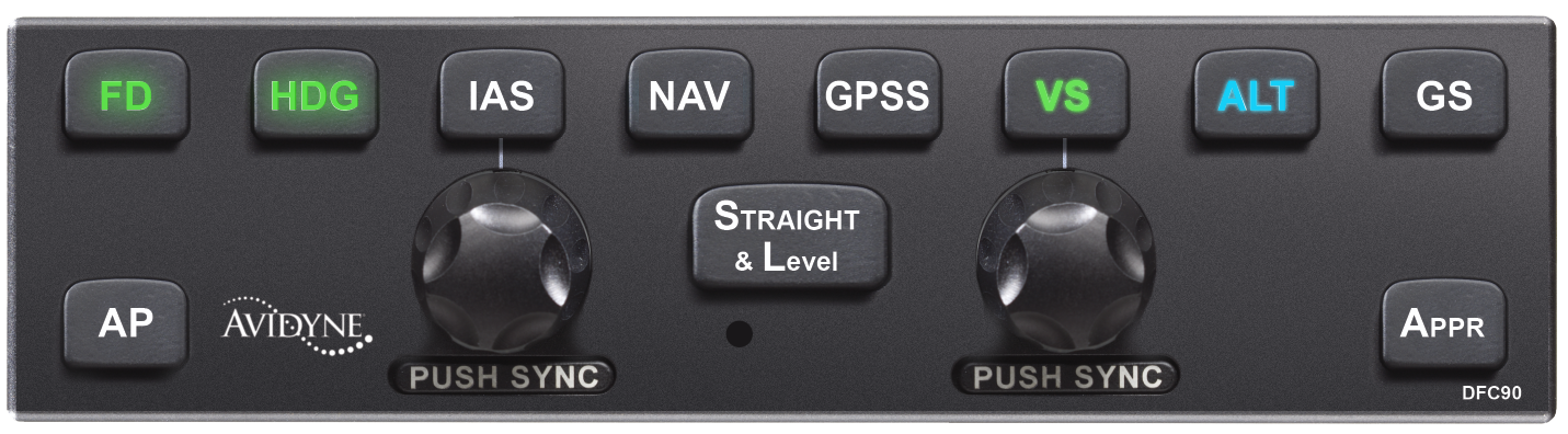 Avidyne DFC90 Digital Autopilot