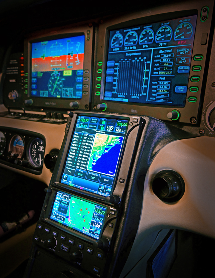 NexAir Smart Panel Upgrades: 2012 Cirrus SR22T with Garmin GTN 750 and GTN 650, Avidyne DFC90.