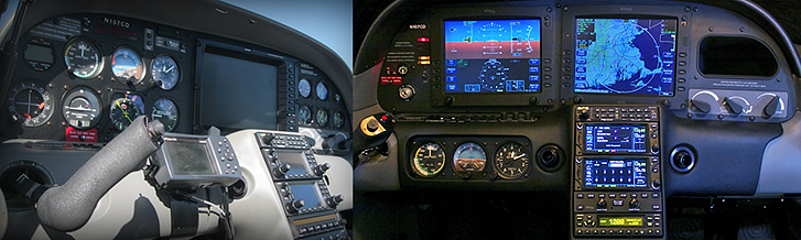 2000 Cirrus SR20 with NexAir Smart Panel™ upgrade. Dual GTN 650s; DFC90 Autopilot; GTX 330ES ADS-B Transponder.