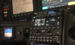 SR-22 After new custom panel by NexAir Avionics
