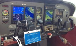 "N733ZZ NexAir Avionics Custom Retrofit ""after"" installation photo"