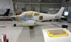 Midwest Aircraft Refinishing sent us this teaser photo. We are very exited for the finishing touches