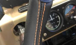 Okay - a little orange Stitching .... Interior tease