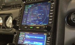 "N968CD ""After"" the Avidyne NexAir Smart Panel Upgrade with PS Engineering PMA450 audio panel and Avidyne DFC90 Autopilot"