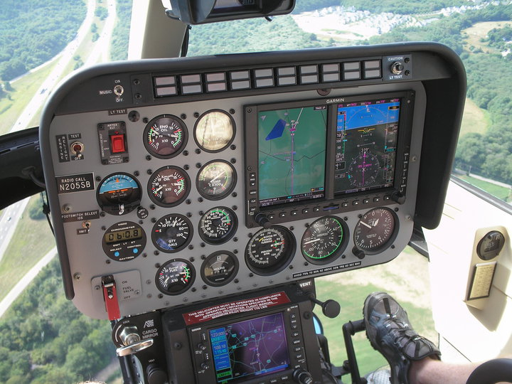 NexAir completes the first Garmin G500H in New England. Shown flying an RNAV (GPS) WAAS Approach into RWY 32 at 1B9 with Synthetic Vision.