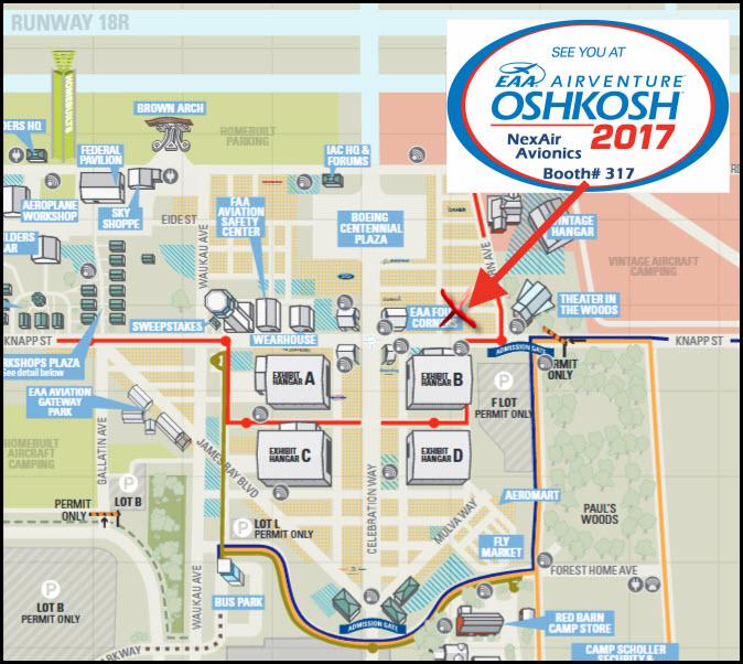 OSH 17 map