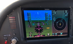 First test flight - love these TXi Screens
