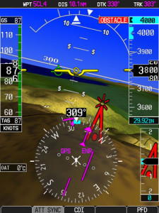 Garmin HSVT™ Helicopter Synthetic Vision Technology on the G500H.
